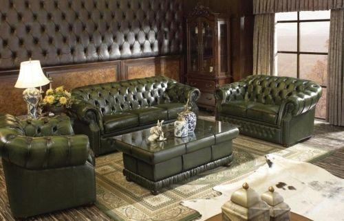 Цвета цельнокожаных диванов