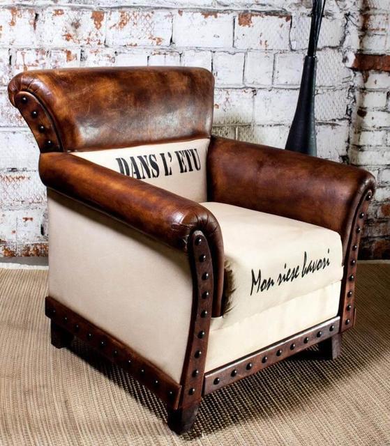 Кожаное кресло SF5029