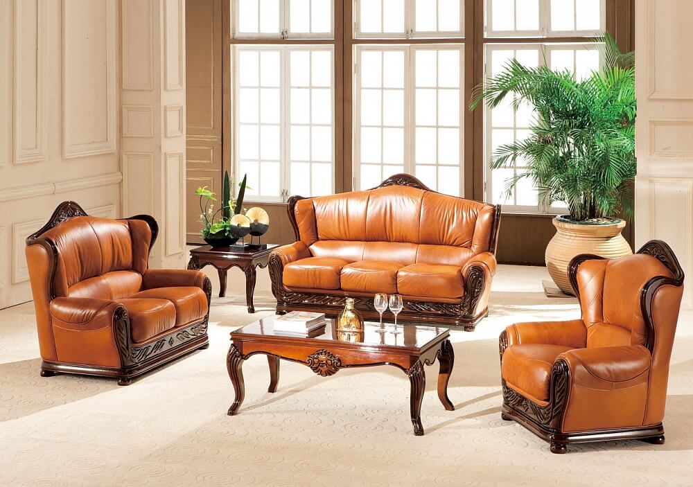 Комплекты кожаной мебели - 6%!