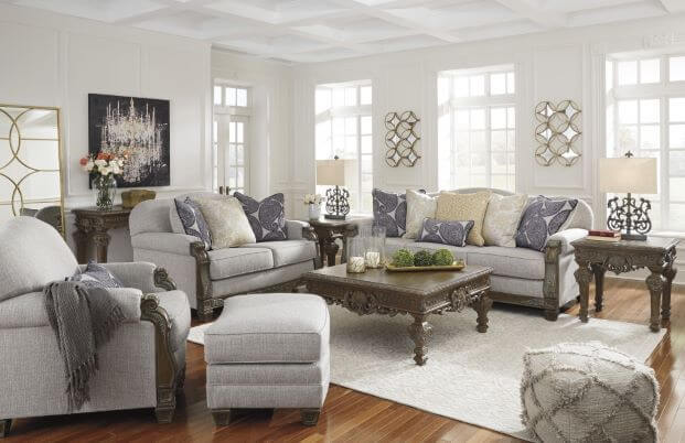 Большие скидки на мягкую мебель Ashley