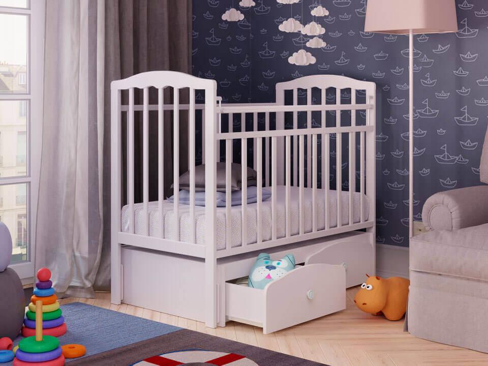 Картинки кроватка детская с ребенком
